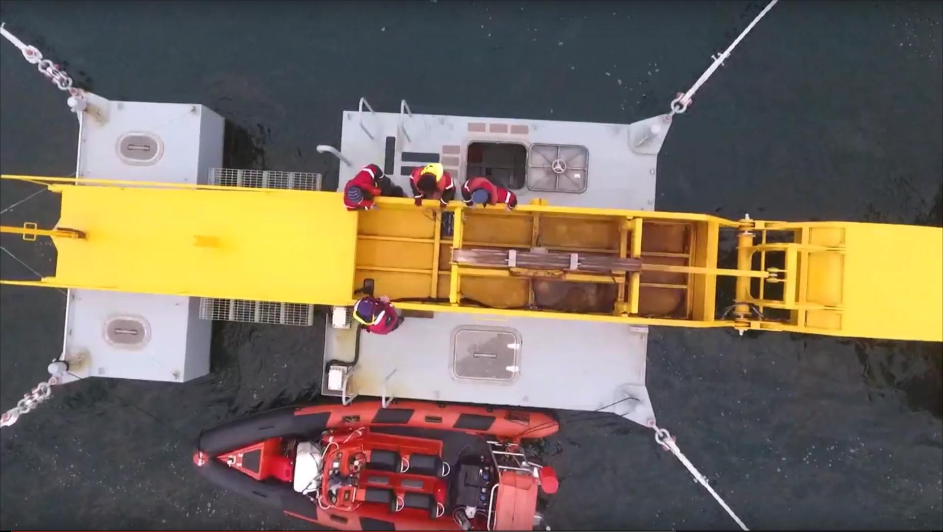 Sea Power Platform 5x overhead